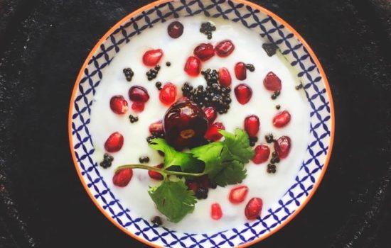 Pomegranate Raita
